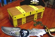 Evie's homework treasure chest