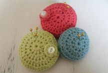 Pincushions / I'm taking part in a pincushion swap over the next few weeks and am drawing together inspirational ideas
