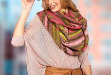 Crochet Scarf and Cowls / Crochet Scarf and Cowls Inspiration