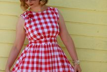 Gorgeous Gingham / by WeSewRetro