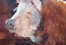 Zvířátka - malba