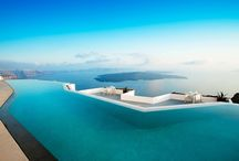 Infinity Pools / Pools with infinity edges and features
