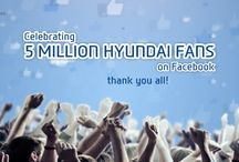 5 Millions Fans on facebook / by HyundaiIndia