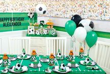 Soccer Birthday Party Ideas / No need to run the length of the soccer pitch to find party supplies that are perfect for your son or daughter's Soccer themed birthday bash. Grab your cleats and soccer ball, and let's get started!