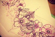 Shoulder piece tattoo