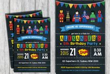 lego super heroes party