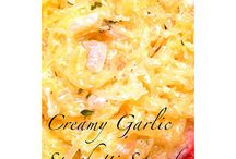 Spaghetti Squash Recipes and Juicing Recipes / Just 2 things I'm playing with right now