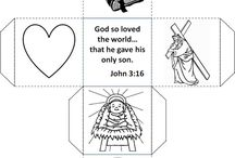 Kids bible craft