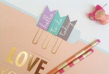 Stationery / Inspiration for planners, bullet journals, pretty notebooks and all things stationery related!