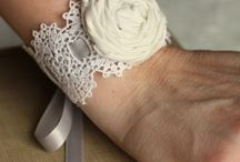 wedding bracelet flower