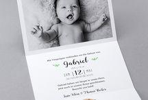 Baby Karte bestellen