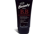 BB Creams / B.B. stands for Blemish Balm and is a 3-in-one with foundation, moisturizer and sunblock.  HANSKIN is the first creator of consumer use B.B. cream! B.B. cream is the newest and hottest thing in Asia right now. In the U.S. cosmetic companies are starting to create their own B.B. cream. While supplies last: www.naturalradiance.net