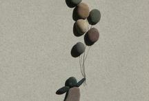 kunst met stenen