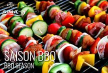 Saison BBQ / BBQ Season / Recettes pour vos BBQ d'été / Recipes for your summer BBQs / by SIMA Canada