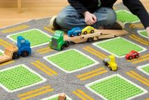 Crochet carpets for babies and kids