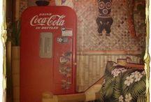 Tacky Tiki Room / by Jodi Durnal