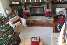 Small living rooms / entertainment unit/ fireplace