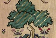eski kanevice elnakışı  motifleri