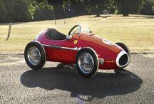 Vintage pedal cars