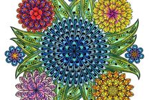 Colouring as art therapy