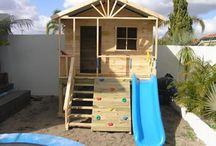 Cubby Houses / Cubby House Ideas for Poppy to build