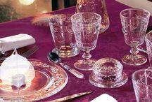 A Table ! les arts de la table - Tableware / Tout pour les arts de la table : service d'assiettes et de plats, verrerie, accessoires de table, de haute facture, tous fabriqués en france