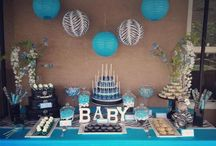 Baby Shower / Ended up with a baseball baby shower! / by Kashayla Reiter