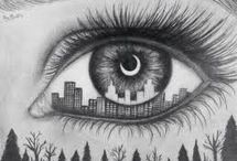eyes - drawing