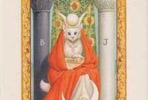white cat tarot