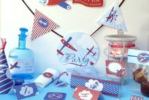 Airplane Party Theme / by Sweetly Chic Events & Design