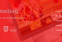 Webentwicklung Webdesign