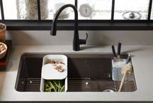 sinks faucets and lighting
