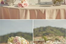 romantic blush wedding