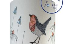 Robin Lampshade Kit - Make It By Jo Hill Fabric Kit