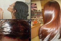 Hiusten hoito