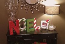 Holiday decor  / by Bridget Tharp