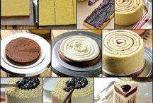 Backen / Torten Kuchen usw