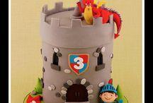 hrad drak a rytier
