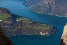 Impressionen vom Vierwaldstättersee Luzern / Einer der schönsten Seen der Schweiz. Direkt vor unser Haustür in Horw.