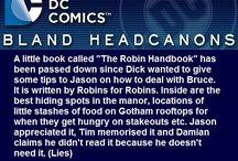 • DC Headcanons
