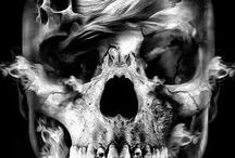 Bones, Skulls and Skeletons / #Bone #Skull #Skelleton