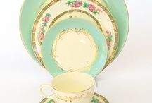 Vintage china and sterling