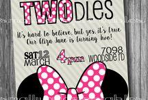 Emily Minnie mouse birthday