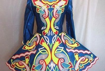 Celtic Art in Dance Dress from Ireland