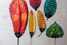 jesień crafts