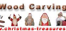 Santa Wood Carvings
