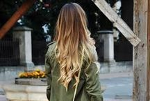 """ Trend Ombre Models "" / Cool, Blonde Ombre! The perfect fall hair color trend for blondes!"