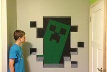 Aaron's minecraft room / Design ideas