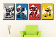 Transformers bedroom