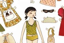 Paper Dolls & Paper Craft